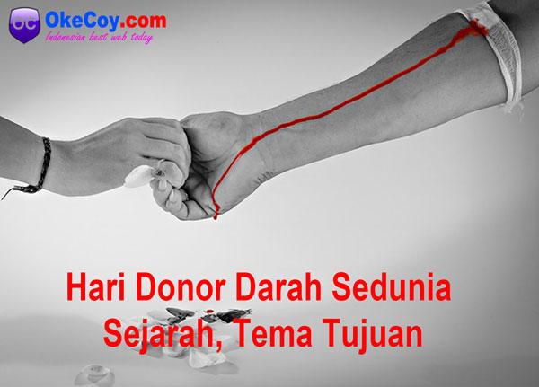 hari donor darah sedunia internasional sejarah dunia tema indonesia tujuan nasional