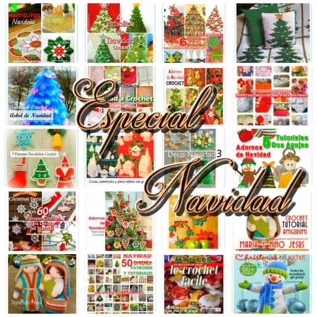250 patrones y tutoriales de adornos para tejer en navidad