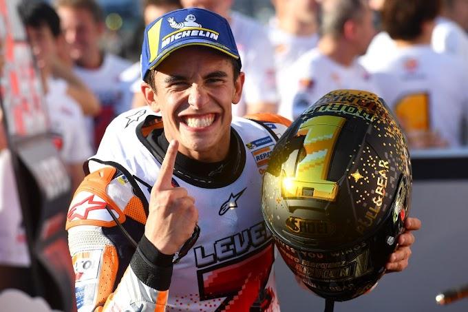 Dovi Ndlosor Marquez Juara Dunia MotoGP 2018
