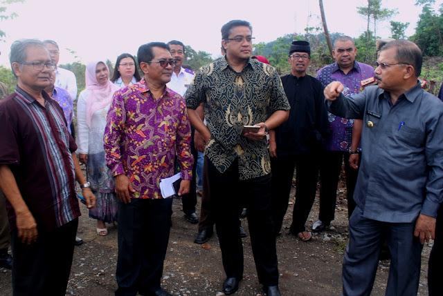 Pimpin Komisi IX DPR, Dede Yusuf Tinjau Lokasi Rencana Pembangunan RS Vertikal di Padangpariaman