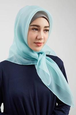 tutorial hijab organza wisuda tutor hijab organza
