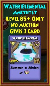Water Elemental - Wizard101 Card-Giving Jewel Guide
