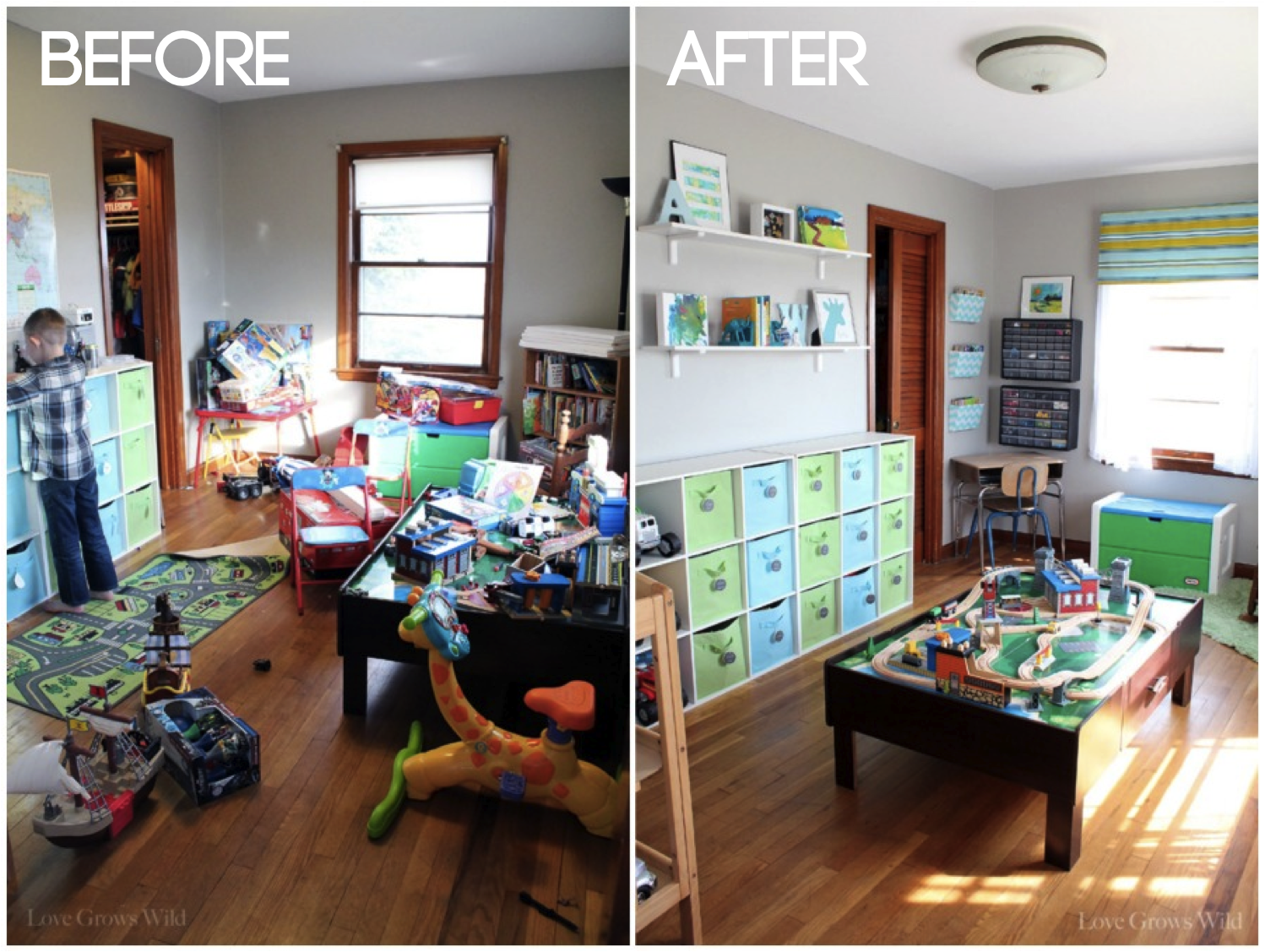 Fun Playroom Ideas Playroom Makeover Room Reveal Love Grows Wild