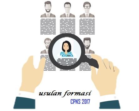 Usulan Formasi CPNS 2017