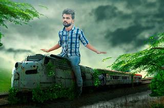 Train Rider | SWAPPY PAWAR PHOTO EDITING