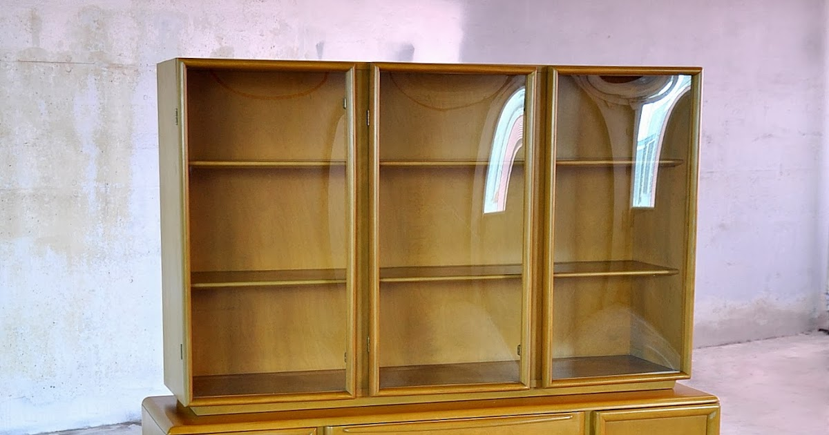 Select Modern Heywood Wakefield Credenza China Cabinet