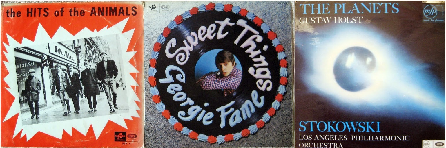 The Hits of the Animals, Georgie Fame Sweet Things, Holst The Planets