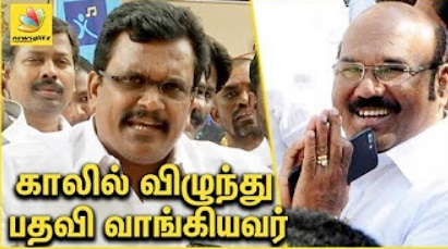 Thanga Tamil Selvan against Jayakumar