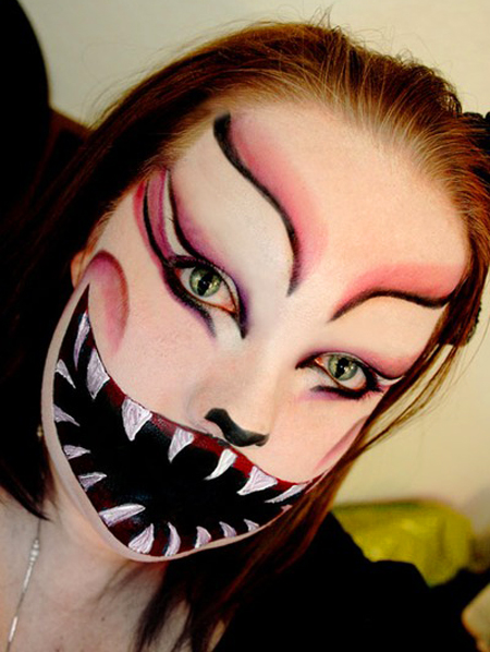 halloween makeup mouth - photo #15