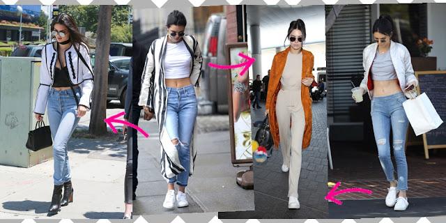 Inspiração Kendall Jenner