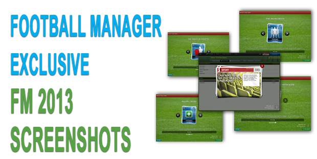 Football Manager 2013 Screenshots