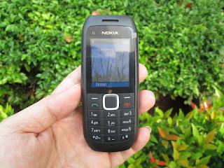 Nokia C1-00 Jadul Dual SIM Phonebook 100