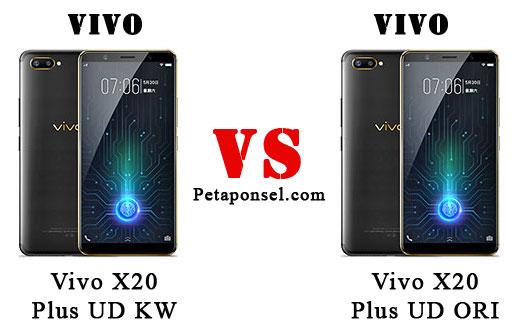 Cara Membedakan Vivo X20 Plus Asli dan Palsu HDC, KW, replika, tiruan, supercopy, cloning