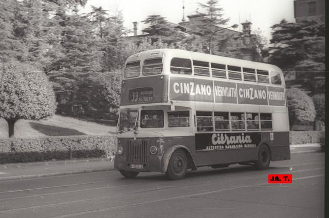 Madrid transportes urbanos leyland en madrid 8 - Autobuses de dos pisos ...