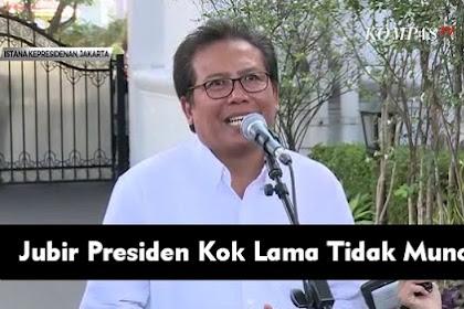 Jubir Presiden Fadjroel Lama Tidak Muncul, 'Diistirahatkan' Karena Kerap Blunder?