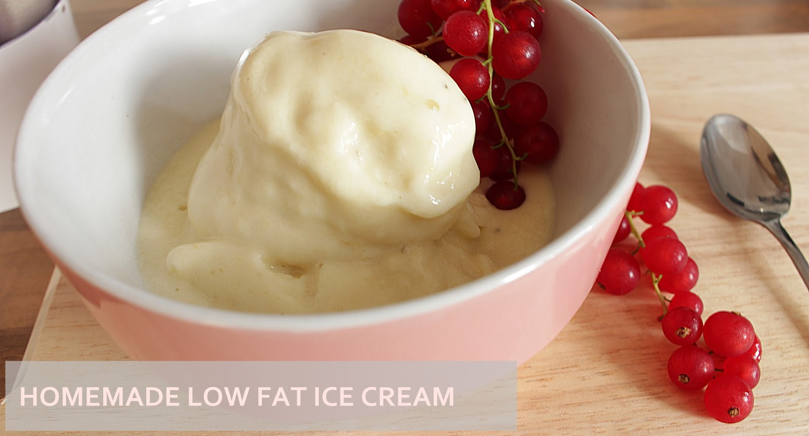Eis Selbermachen Fettarm