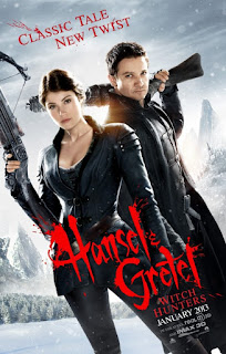 Hansel & Gretel Witch Hunters 2013 Hindi Dubbed BRRip [300MB]