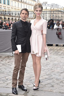 Elle Evans, Dior, Matt Bellamy, Paris, Paris Fashion Week