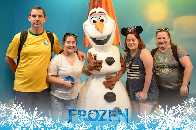 Olaf - no Hollywood Studios
