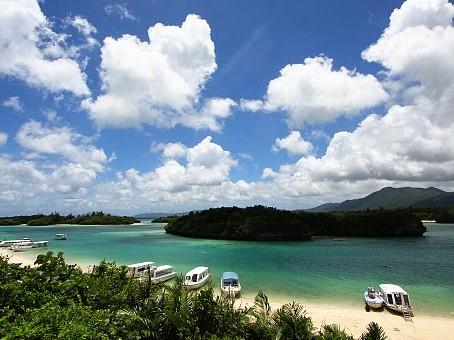 Spiagge subtropicali Yaeyama Giappone