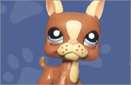 LPS Boston Terrier Figures