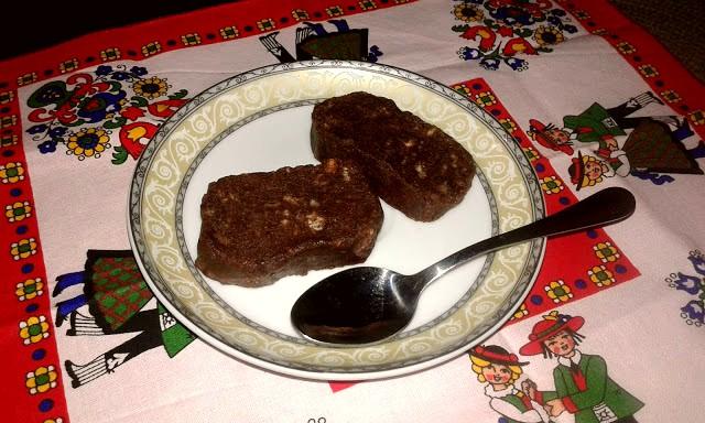 для дітей шоколадна ковбаска з печива