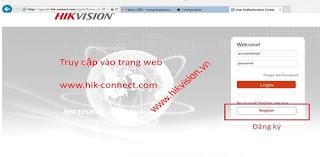 Cài đặt tên miền Hik-Connect Domain xem camera Hikvision qua mạng