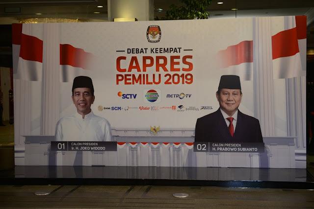 Debat Capres IV, Analis: Jokowi Belum Berhasil Menanamkan Ideologi Pancasila di Indonesia!