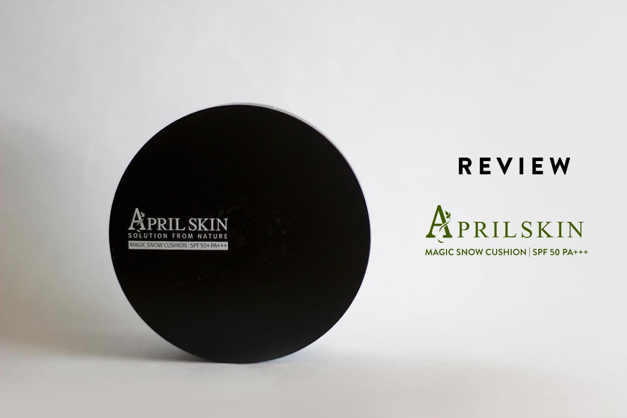 Review April Skin Magic Snow Cushion Spf 50 Pa Celine Han Makeup Aprilskin