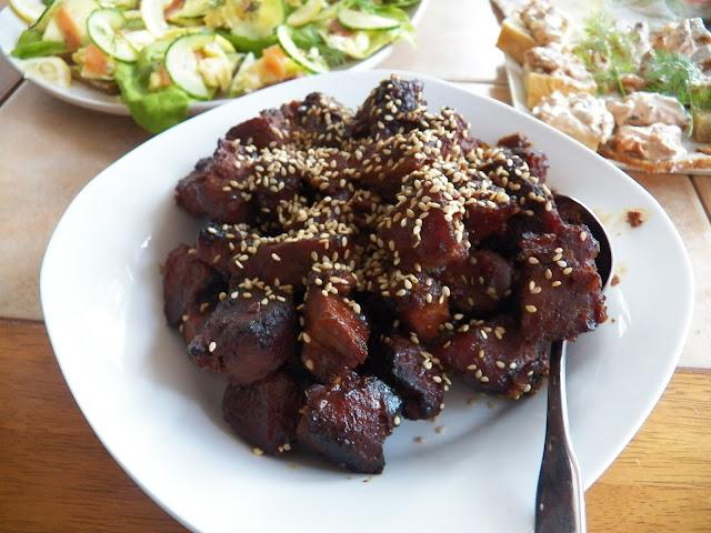 Asian Style Pork Tenderloin Bites