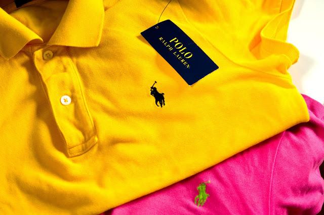 papierowa metka kolory logo konik naszywka polo Ralph Lauren