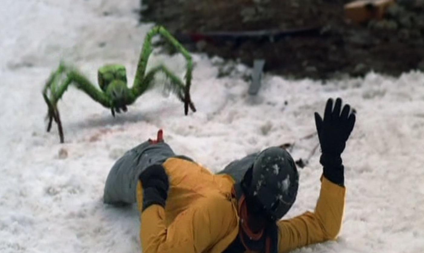 HORROR FOREVER: PAJĄKI / ICE SPIDERS (2007)