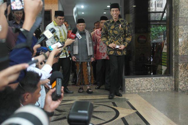 Sowan ke PBNU, Presiden Jokowi Sampaikan Dua Hal