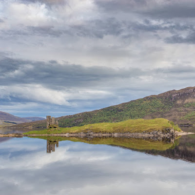 Ardvreck Castle by Laurence Norah