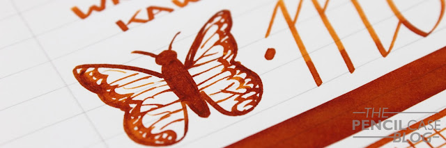 Inktastic: KWZ ink Monarch (fontoplumo) ink review