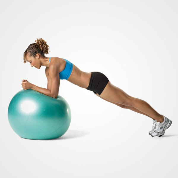 Plank Using Fit Ball And Bosu Ball: Gifted Hands Massage: Weight Loss/toning & Functional Training