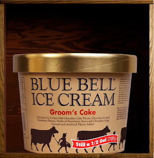blue bell wedding cake ice cream by the pool it s just better s cake 11974