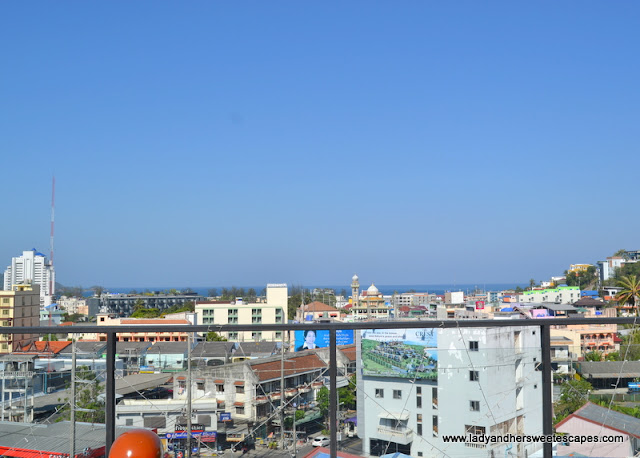 The Frutta Boutique view of Patong