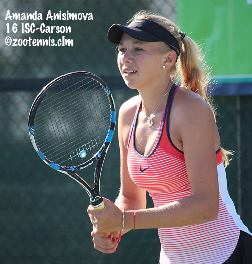 Zootennis May Aces Anisimova Reaches Semifinals In