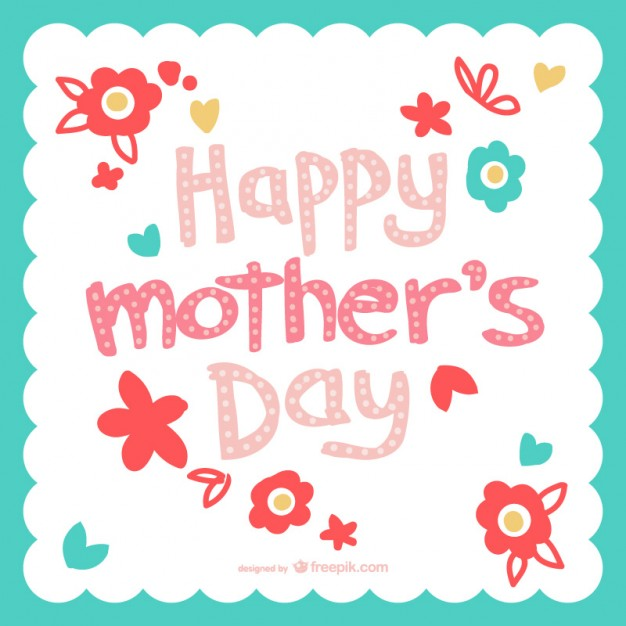 Tarjetas para el dia de la Madre 2017