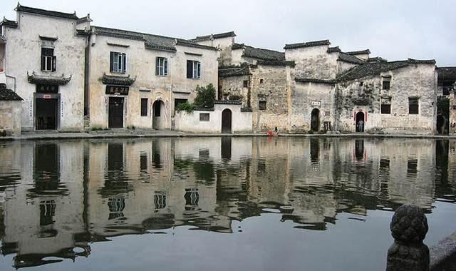 Desa Hongcun Kuno