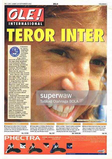 OLE! INTERNASIONAL: TEROR INTER