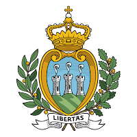 Logo Gambar Lambang Simbol Negara San Marino PNG JPG ukuran 200 px