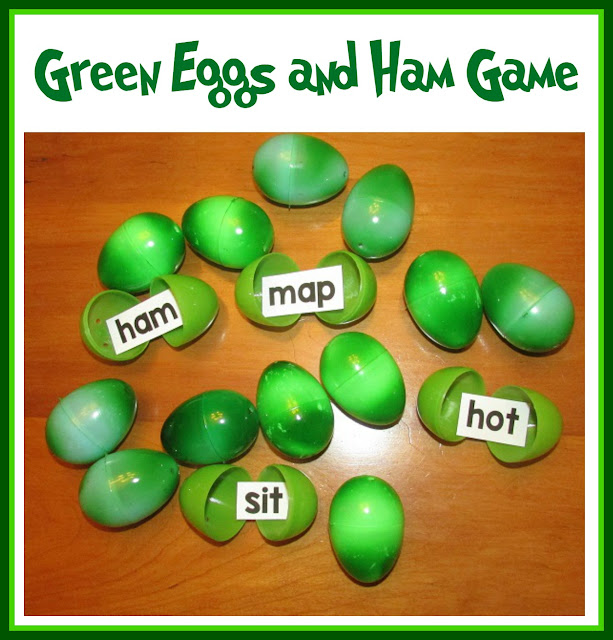 You Could Also Have The Children Open Egg And Write Their Word On Dry Erase Board Or A Sheet Of Easel Paper To Collect List CVC