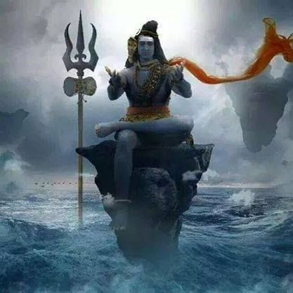 lord shiva in rudra avatar animated wallpapers | rudra ...