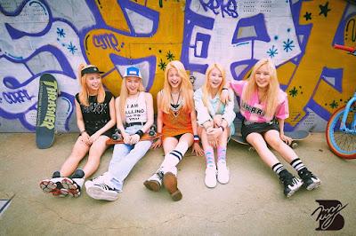 ialah girl group pendatang gres asal Korea Selatan bentukan dari  Profil MyB