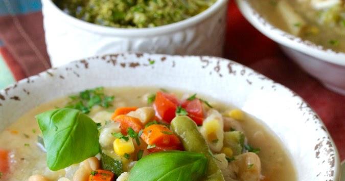 Provençal Vegetable Soup with Pistou (Soupe au Pistou ...