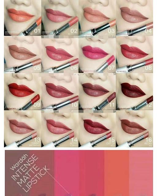 Indah Menawan, Intense Matte Lipstick Moga cocok buat Bibirmu Lho