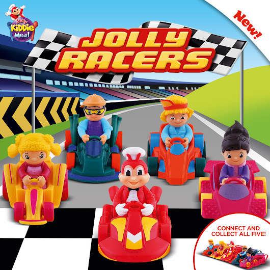 NOW AVAILABLE: JOLLY KIDDIE MEAL JOLLY RACERS