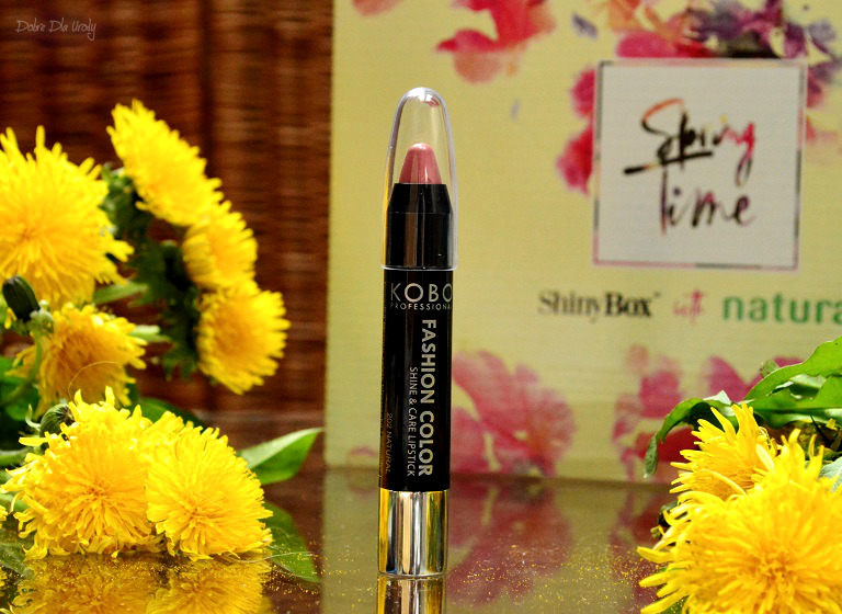 ShinyBox with Natura Spring Time - Kobo Professional Fashion Color Shine & Care Lipstick